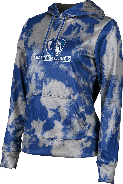 ProSphere Eastern Illinois University Girls' Pullover Hoodie, School Spirit Sweatshirt (Grunge)