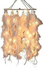 Daedal dream catchers- White Color with Lights DDC3 (Dimension 40cm L X 23cm W X 23cm D)