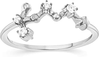 virgo diamond ring