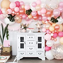 Balloon Garland Kit by Party Animal Company - Pink and Purple - 85 Pieces - Veteran Owned - DIY Party Decorations - Birthday Party - Baby Shower - Weddings - Arch - Unicorn or Mermaid Theme