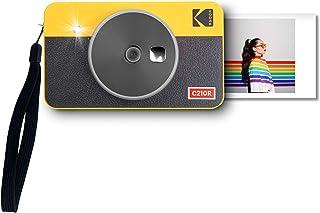 Kodak Mini Shot 2 Retro Cámara Instantánea e Impresora Fotográfica Inalámbrica Portátil, Compatible con iOS, Android y Blu...