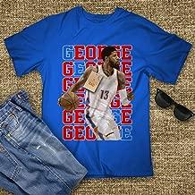 Paul-George Basketball Shirt Los Angeles Text No.13 Jersey Big Fan Customized Handmade T-Shirt Hoodie/Long Sleeve/Tank Top/Sweatshirt