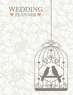 Wedding Planner: A Glamour Wedding Planner & Organizer For Future Mrs, Checklists, Complete Worksheets, Guest Book & Budget Planning Workbook