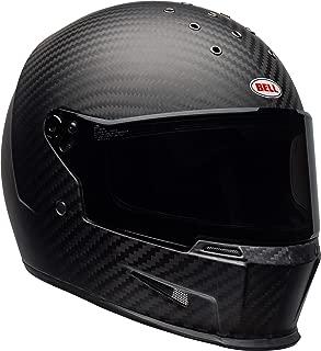 Bell Eliminator Carbon Street Motorcycle Helmet (Matte Black, Medium/Large)