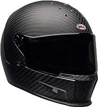 Bell Eliminator Carbon Street Motorcycle Helmet (Matte Black, Large)