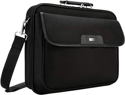 """Targus Notepac Clamshell, sacoche pour ordinateur portable 15,4-16"""", mallette ordinateur portable en nylon et en kosk..."""