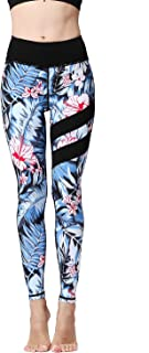 Whitewed Tropical Print Activewear Yoga Fitness Stretch Pants Leggings for Women