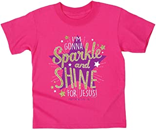 Kerusso Sparkle and Shine Kids T-Shirt - Christian Fashion Gifts