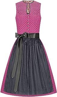 Lieblingsgwand Moser Trachten Baumwolle Mini Dirndl 60er pink anthrazit Emilia 005260 - limitiert, 3-teilig inklusive Dirndlbluse