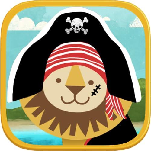 Piraten-Vorschulpuzzle – Witzige Lehrreiche Kleinkinderspiele und Schulaktivitäten für Jungen und Mädchen - Ausbildung Version