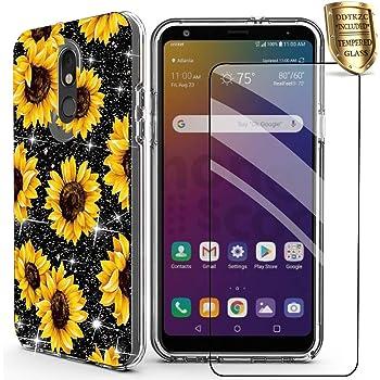 Sunflower case for LG Stylo 5 LG G7 LG V40 LG V30 LG K8 LG V35 LG V20 LG V10 LG Zone 4 LG Q7 LG G6 LG G5 LG G4 LG Stylo 4 LG Stylo 3 LG Stylo 2 LG K20