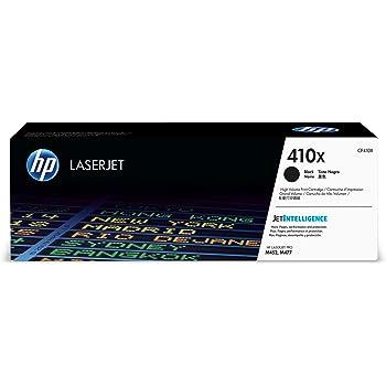 HP 410X | CF410X | Toner Cartridge | Black | High Yield
