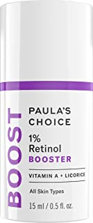 Paula's Choice BOOST 1% Retinol Booster, Vitamin A & Licorice Serum for Fine Lines & Wrinkles, 0.5 Ounce