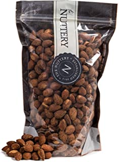 The Nuttery Freshy Roasted and Hickory Smoked Almonds - 16 ounce Pouch Bag (1lb)