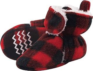 Unisex Baby Cozy Fleece and Sherpa Booties