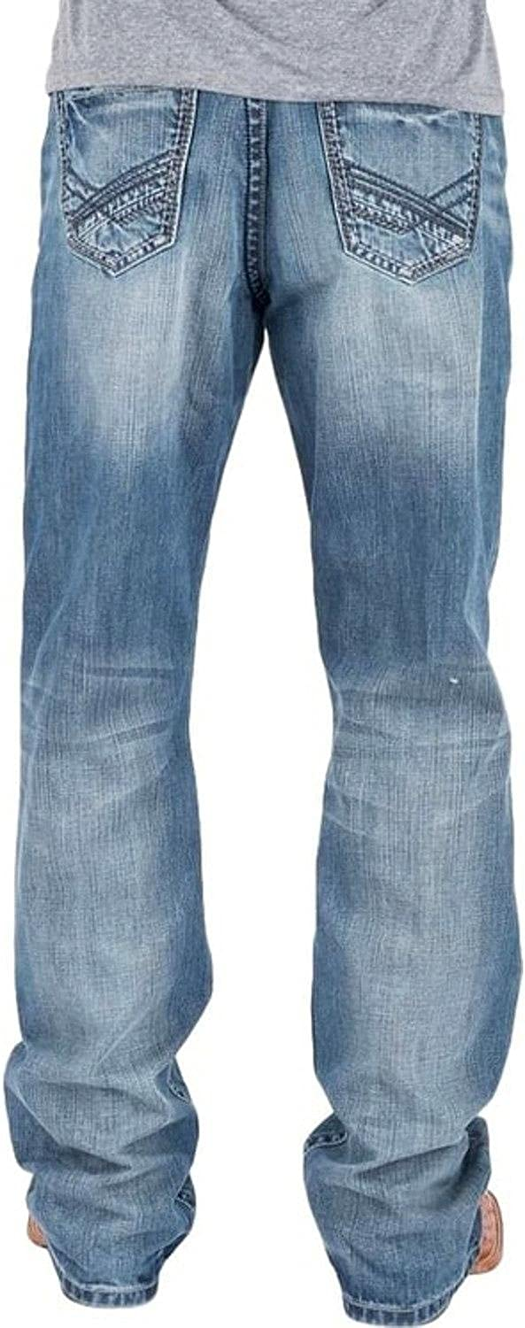 Tin Free shipping anywhere in the nation Haul Men's Regular Joe Fit Wash Light 3 Bootcut Al sold out. Indigo Jeans
