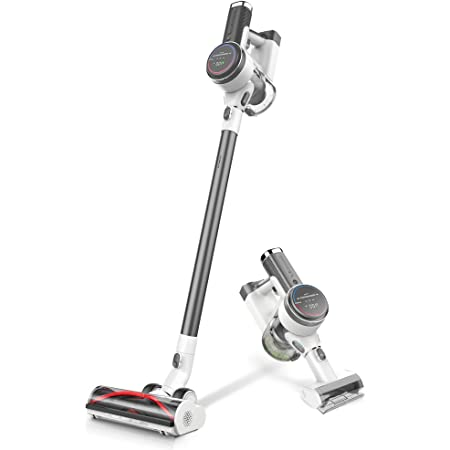 Tineco Pure ONE S12 Plus / S12 Pro EX Smart Cordless Stick Vacuum Cleaner, Optimized Ultra Powerful Suction & Long Runtimes, Excellent for Multi-Surface & Pet Hair Cleaning with LED Hard Floor