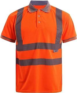 Arancio//Grigio XXXL Portwest S378OGYXXXL Maglietta Manica Corta Alta Visibilit/à