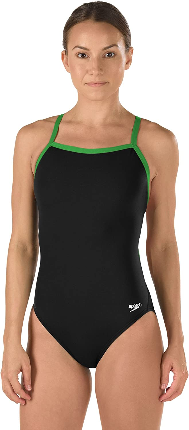 Speedo Big Girls' Youth Flyback Endurance+ Training Swimsuit