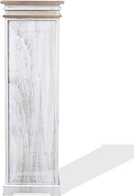Moblit Tabac Mesita con Tres Cajones, Madera, Blanco, 63x43x35 cm ...