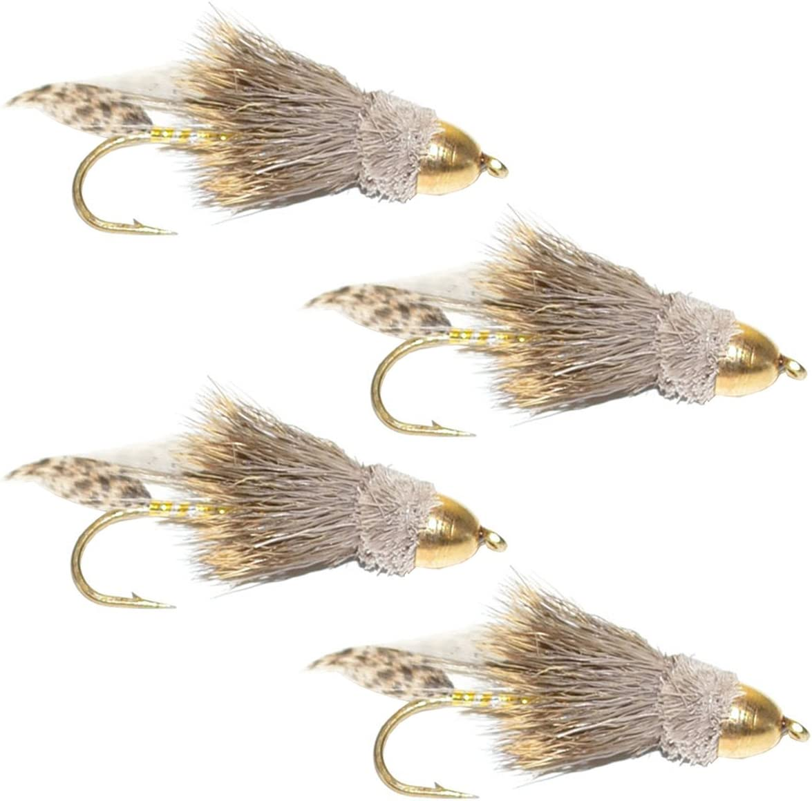 The Cheap bargain Fly Fishing New Shipping Free Shipping Place Cone Head Minnow Flies Muddler