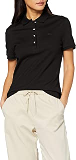 Lacoste Stretch Cotton Piqué Polo Shirt for Women in