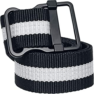 Urban Classics Easy Belt with Stripes Cintura Unisex-Adulto