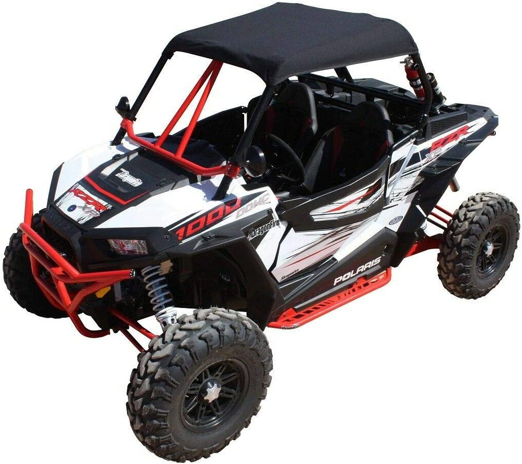 Purchase Dragonfire Racing Black SoftTop Roof 1000 RZR Polaris Turbo 2021 spring and summer new XP