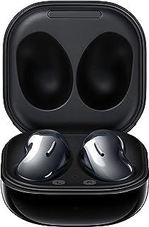 Samsung Galaxy Buds Live, True Wireless Auriculares con cancelación activa de ruido (funda de carga inalámbrica incluida), color negro místico (versión de EE.UU.) (renovado)