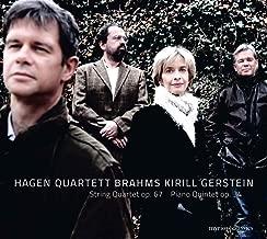 Brahms: String Quartet Op. 67 & Piano Quintet Op. 34