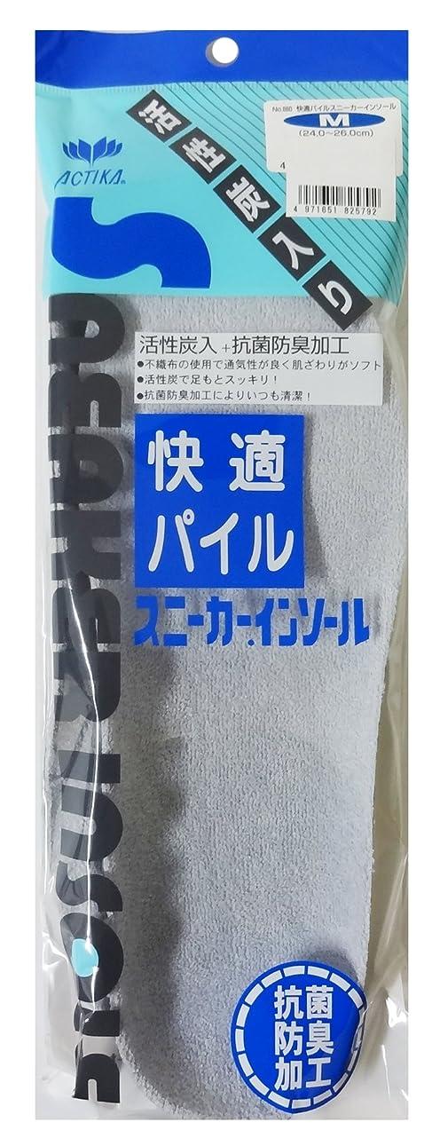 忌まわしいまっすぐ直感木原産業 快適パイルスニーカーインソール M
