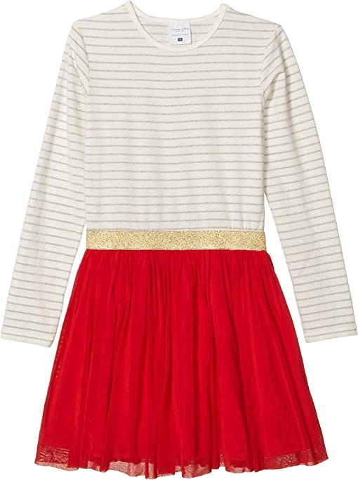 Red/White/Silver Striped
