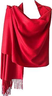 Women Oversized Extra Soft Cashmere Feel Winter Scarf Pashmina Shawl Wrap Stole