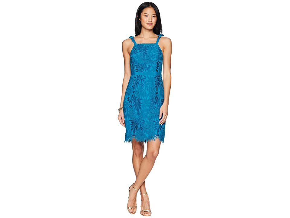 Lilly Pulitzer Kayleigh Shift Dress (Tidal Wave Fern Gallery Lace) Women