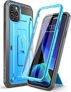 SupCase Funda iPhone 11 Pro [UB Pro] 360 Grados Case Carcasa Completa con Soporte Y Protector de Pantalla Incorporada (Azul)