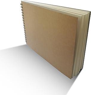 Eachgoo Espiral Encuadernación Cuaderno, Tapa Dura Cuaderno Dibujo (A5)