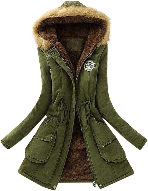 Women Jacket Coat Plush Fleece Padded Lined gift Cotton Hoodies Memphis Mall Windb