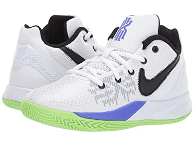 Nike Kids Kyrie Flytrap II (Big Kid) (White/Black/Space Purple/Green Strike) Boys Shoes