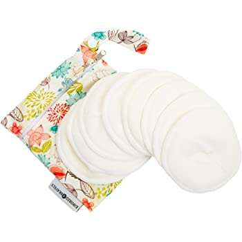 Kindred Bravely Organic Washable Breast Pads 8-Pack