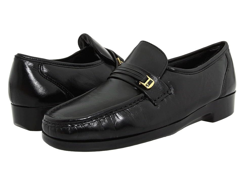 Florsheim Riva (Black Nappa) Men's Slip-on Dress Shoes