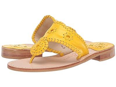 Jack Rogers Jacks Flat Sandal (Yellow) Women