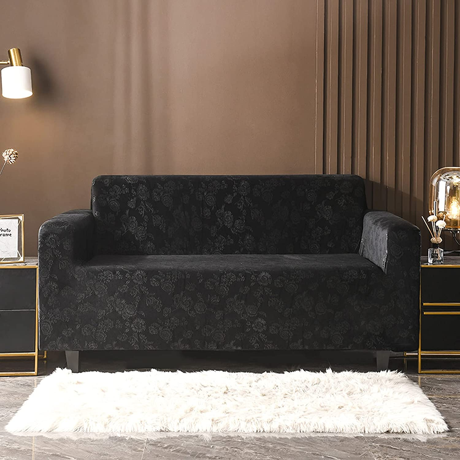 Floral Printed Ranking TOP8 Velvet Sofa Covers Slipcovers Living Protect Limited Special Price Room
