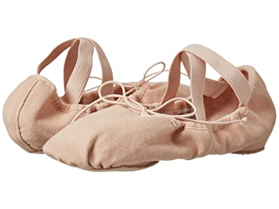 Bloch Zenith Stretch Canvas Split-Sole Ballet (Pink) Women