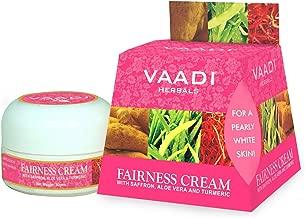 Vaadi Herbals Fairness Cream, Saffron, Aloe Vera and Turmeric Extracts, 30g