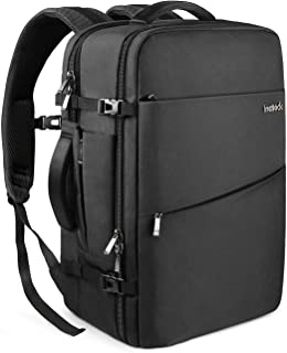 Inateck Travel Carry-On Luggage Backpack 30L, Flight Approved Business Anti-Theft Weekender Rucksack Bag, Fit 15.6'' Laptop for Men and Women - Black