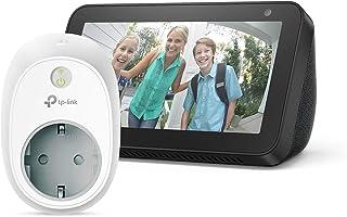 Echo Show 5 – Nero +TP-Link HS100 Presa intelligente Wi-Fi, compatibile con Alexa