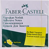 Faber-Castell 5089585401 Yapışkan Notluk Harmony 75x75mm, Mor