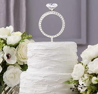 David Tutera Cake Topper, 3D Engagement Ring
