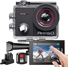 AKASO Sports EK7000 PRO Sports Camera/Action Cam 4K WiFi helmcamera/onderwatercamera met touchscreen, instelbare groothoek...
