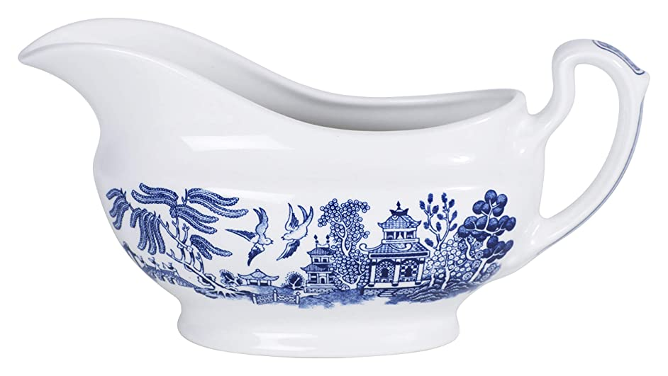 Blue Willow Gravy Boat